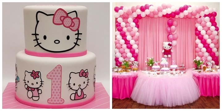 2. Hello Kitty Birthday Theme