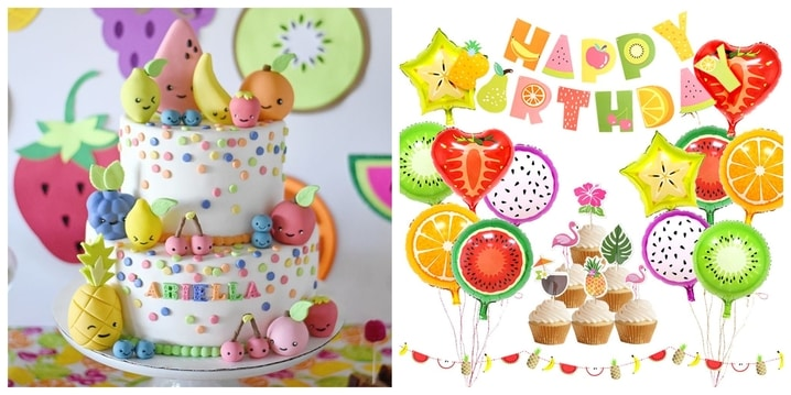 20. Tutti Frutti Party Theme