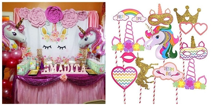 22. Unicorn Birthday Theme