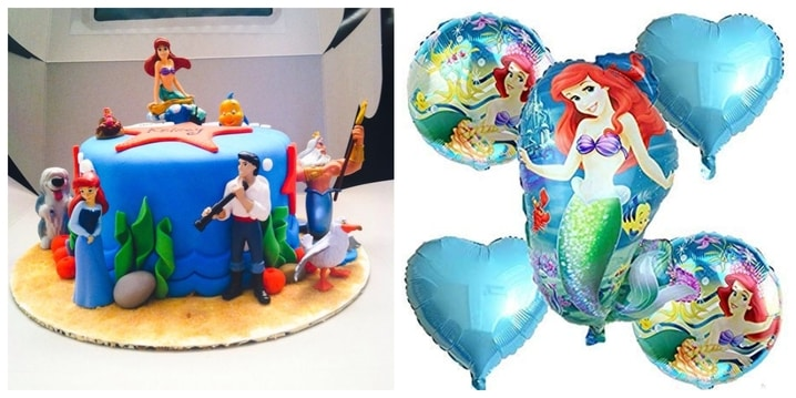 23. Little Mermaid Party Theme