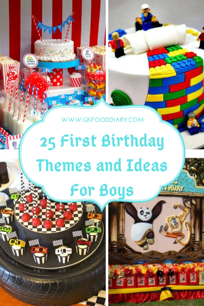 25 First Birthday Themes and Ideas For Boys