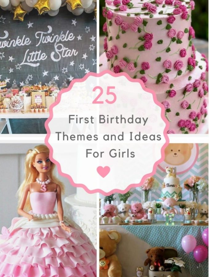 25 First Birthday Themes and Ideas For Girls