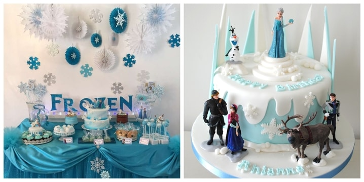 3. Frozen Birthday theme