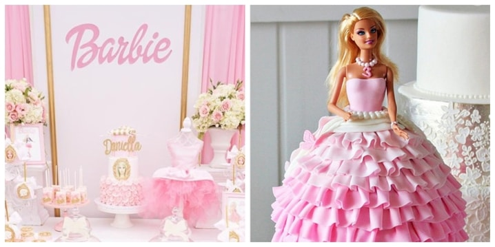 4. Barbie Birthday Theme