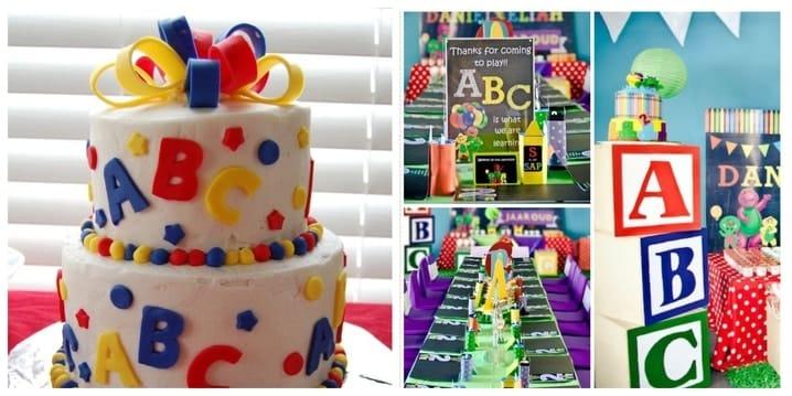 ABC Birthday Theme
