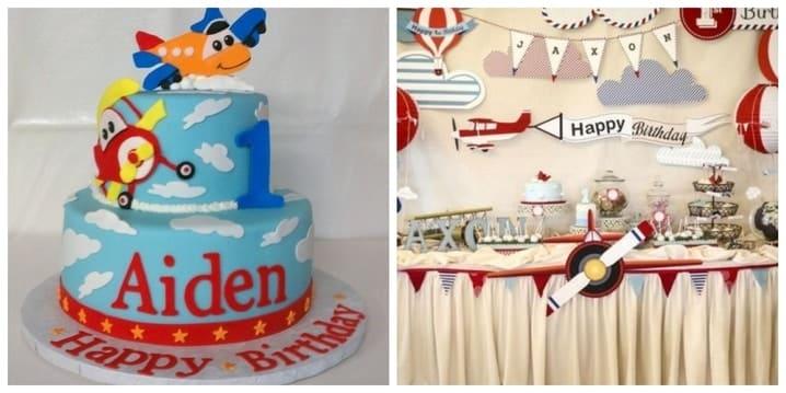 Airplane Birthday Theme