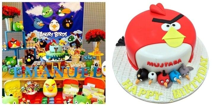 Angry Bird Birthday Theme