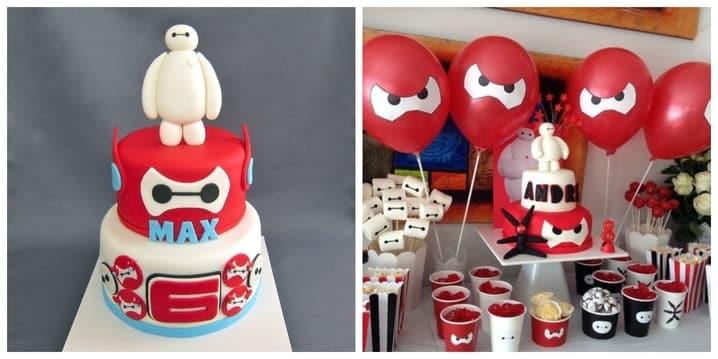 Big Hero 6 Birthday Theme
