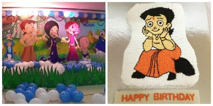 Chota Bheem Birthday Theme