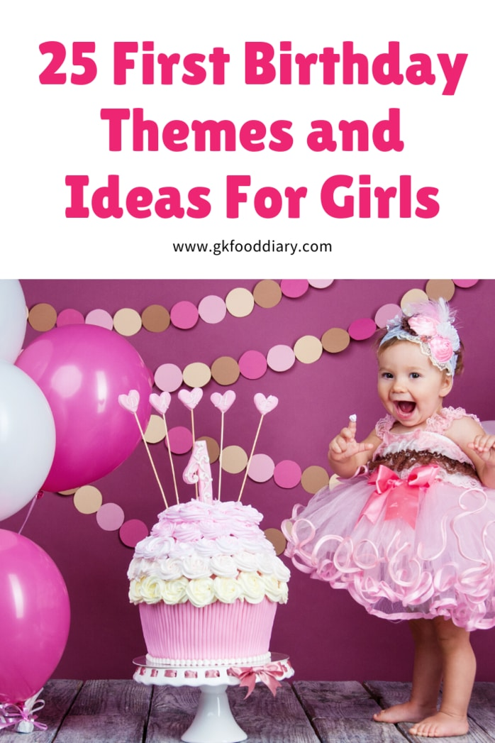 First Birthday Themes Girls