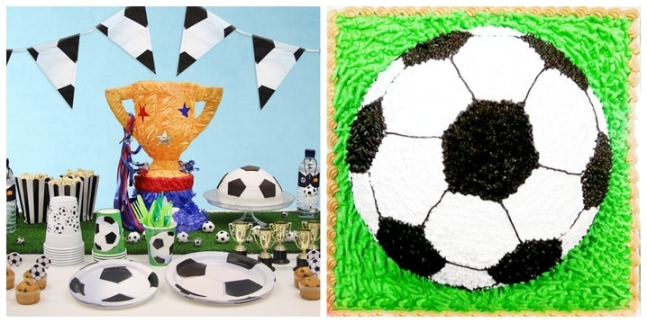 Football Birthday Theme