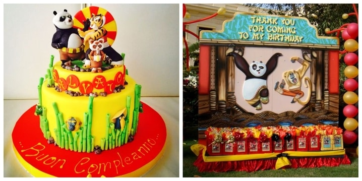Kung Fu Panda Birthday Theme