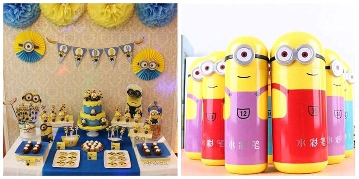 Minions Birthday Theme
