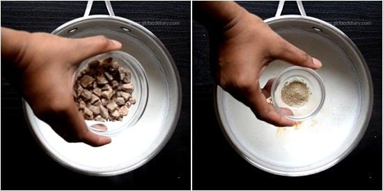 Palm Jaggery milk Recipe step 2