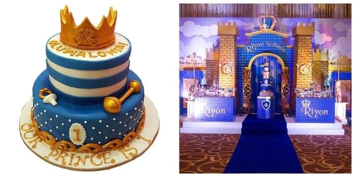 Royal Prince Birthday Theme