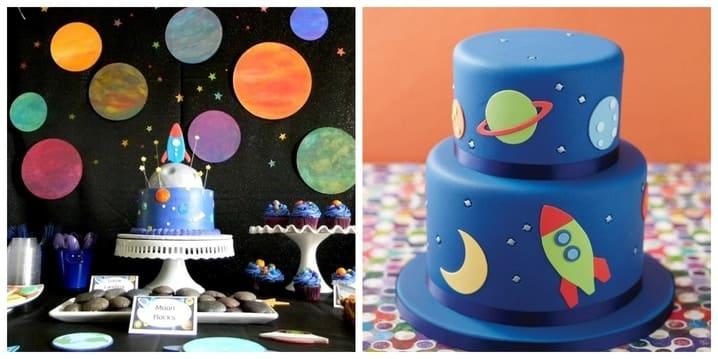Space Birthday Theme