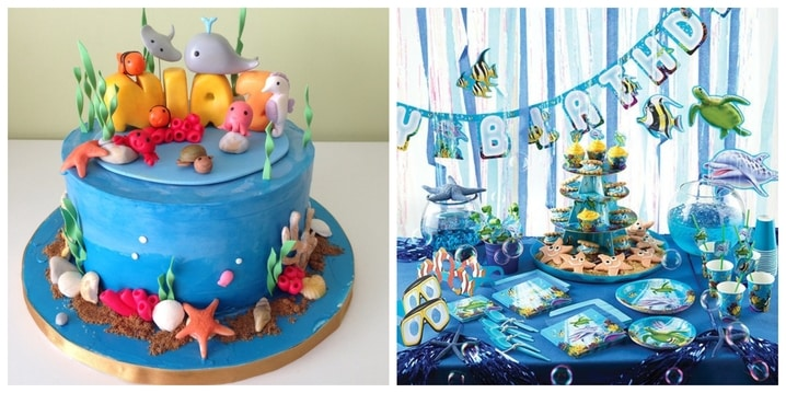 Underwater Birthday Theme