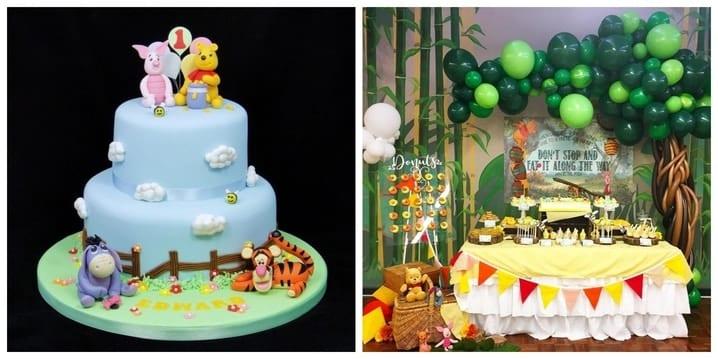 Winnie The Pooh Birthday Theme