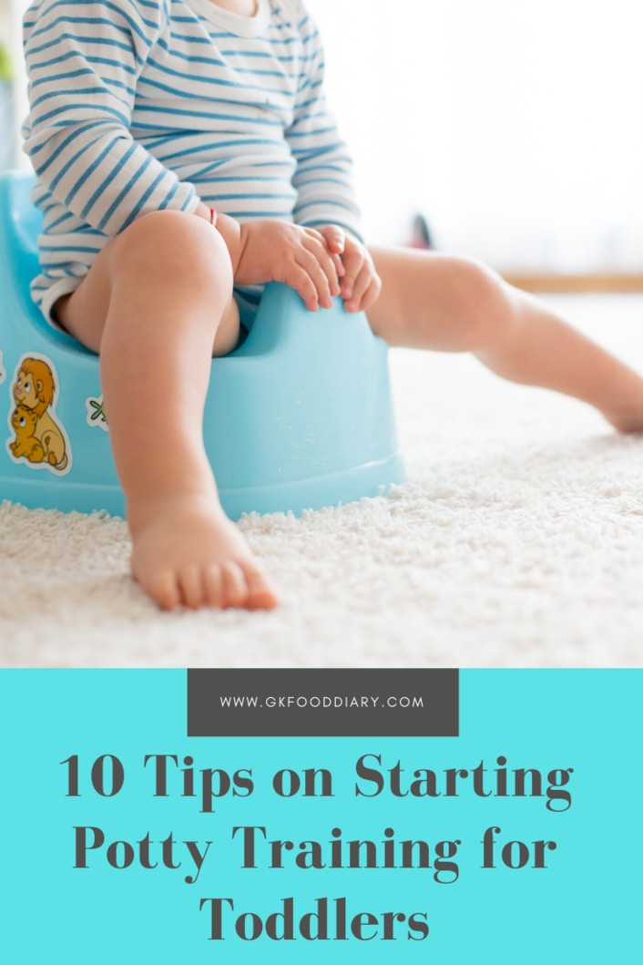 10 Tips on Starting Potty Training for Toddlers