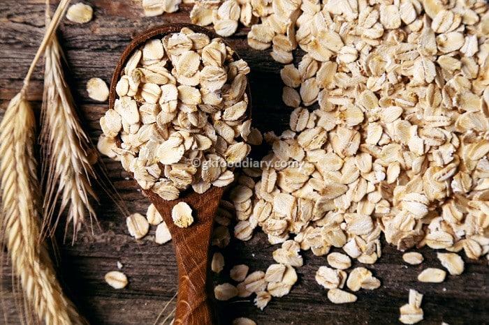 Oatmeal - Remedy for diaper rash