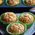 Whole Wheat Almond Muffins Recipe