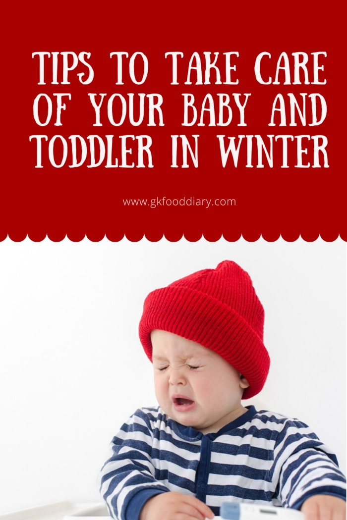 Tips to Take Care of Your Baby and Toddler in Winter