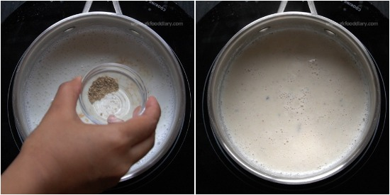 Dry Ginger Milk Recipe for Toddlers and Kids - Step 3