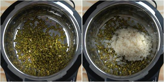 Green Gram Porridge Recipe Step 1