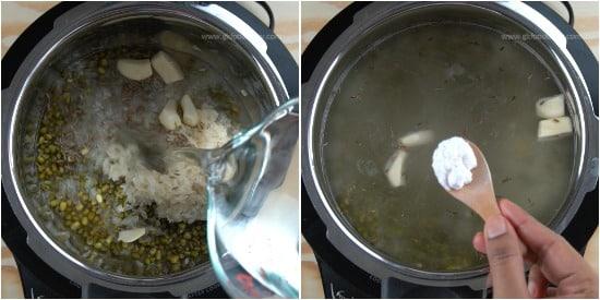 Green Gram Porridge Recipe Step 3
