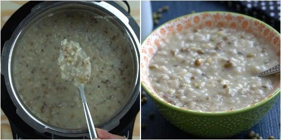 Green Gram Porridge Recipe Step 6