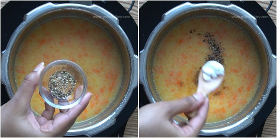 Carrot Moong Dal Soup Step 6