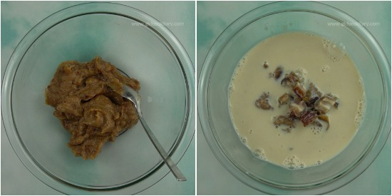 Eggless Dates Oats Cake Step 4