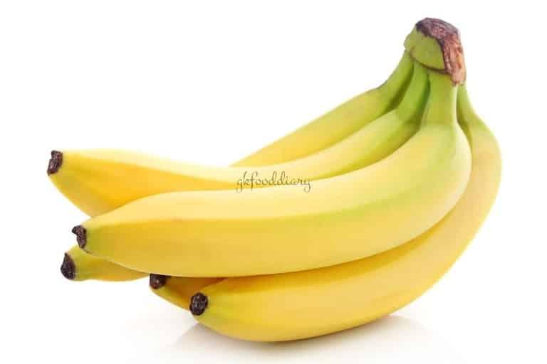Bananas - High Fiber-rich Foods for Babies