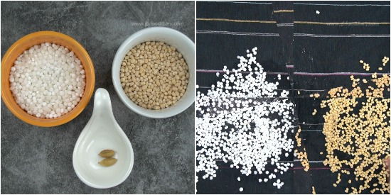 Sabudana Urad Dal Powder step 1