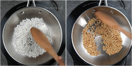 Sabudana Urad Dal Powder step 2