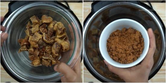 Dried Figs Jam Recipe Step 1