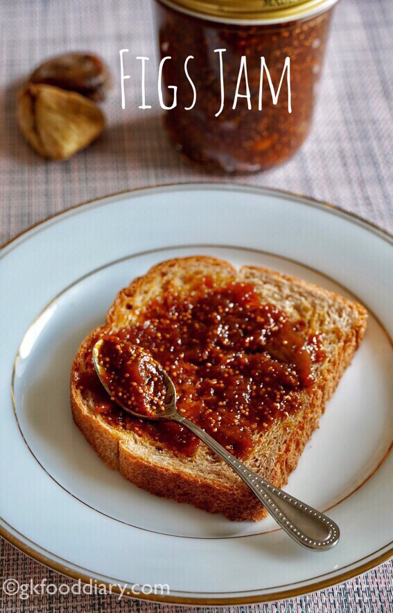 Dried Figs Jam Recipe for Toddlers