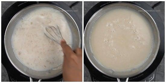 Sabudana Urad Dal Milk Recipe step 2