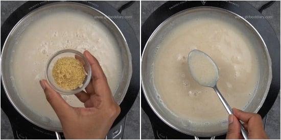 Sabudana Urad Dal Milk Recipe step 3
