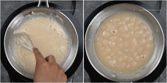 Sabudana Urad Dal Milk step 2