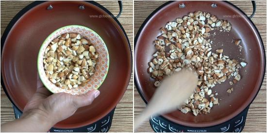 Dry Fruit Barfi Step 1