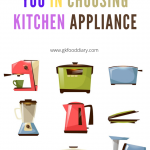 Simple Guidance For You in Choosing Kitchen Appliance
