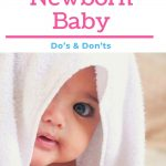 Bathing a Newborn Baby Dos Donts